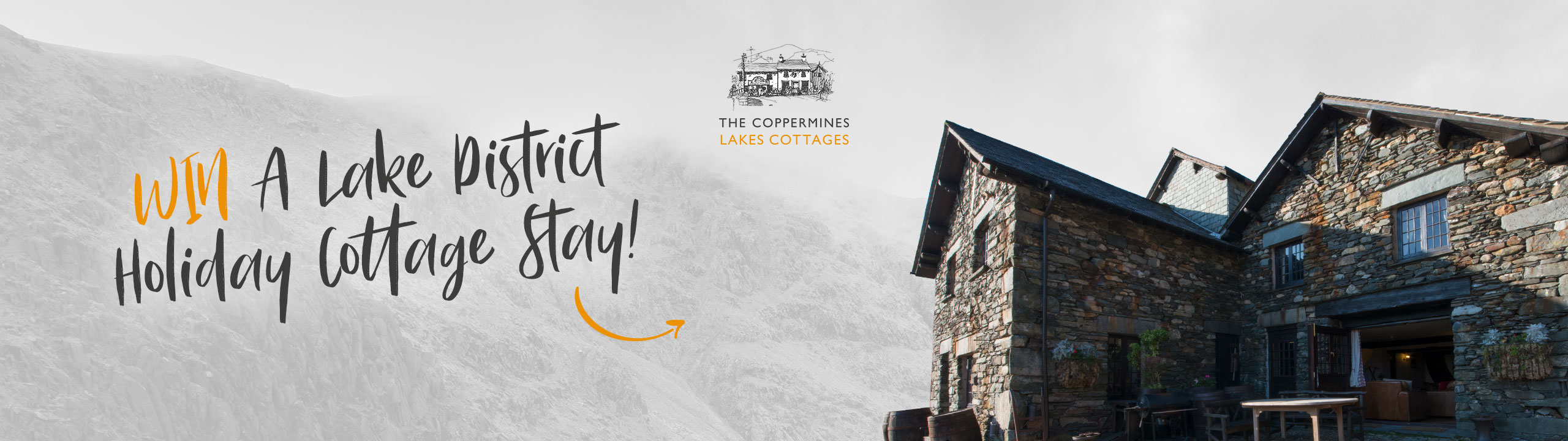Win a Lake District Holiday Cottage Stay
