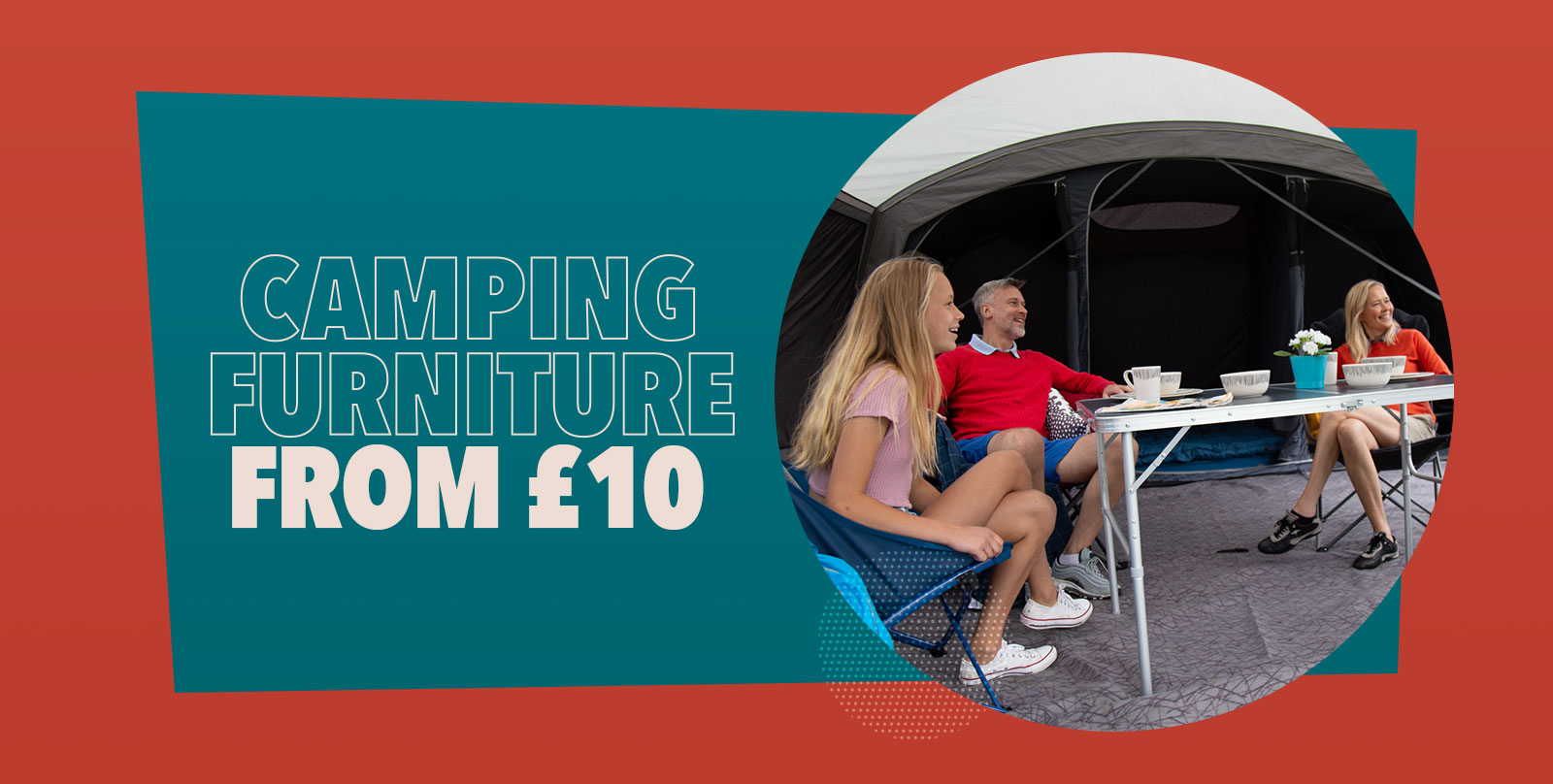 Camping Furniture from £10