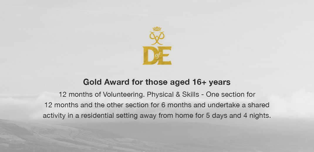 DofE Gold Award