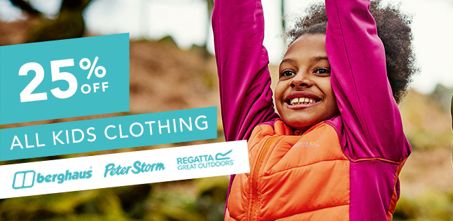 25% OFF Kids Clothing