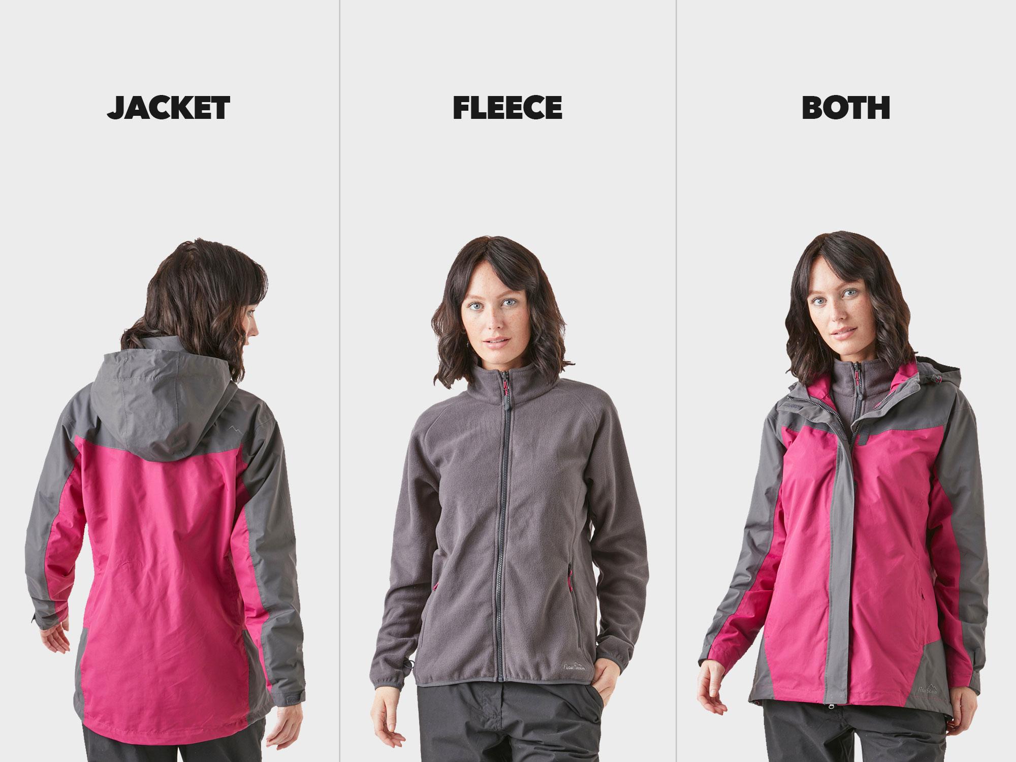 3 Wearing styles