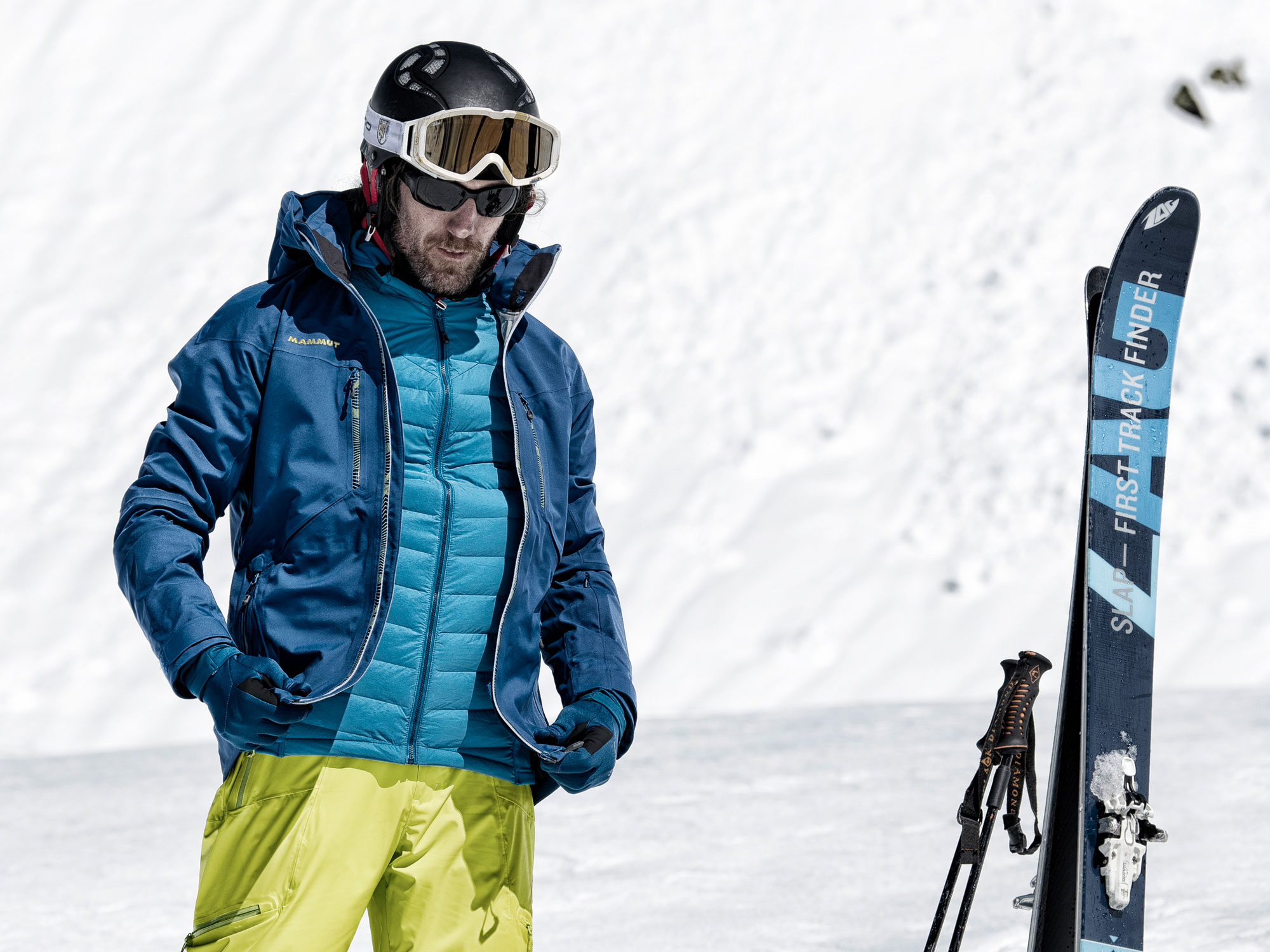 Skiing Mid-Layers