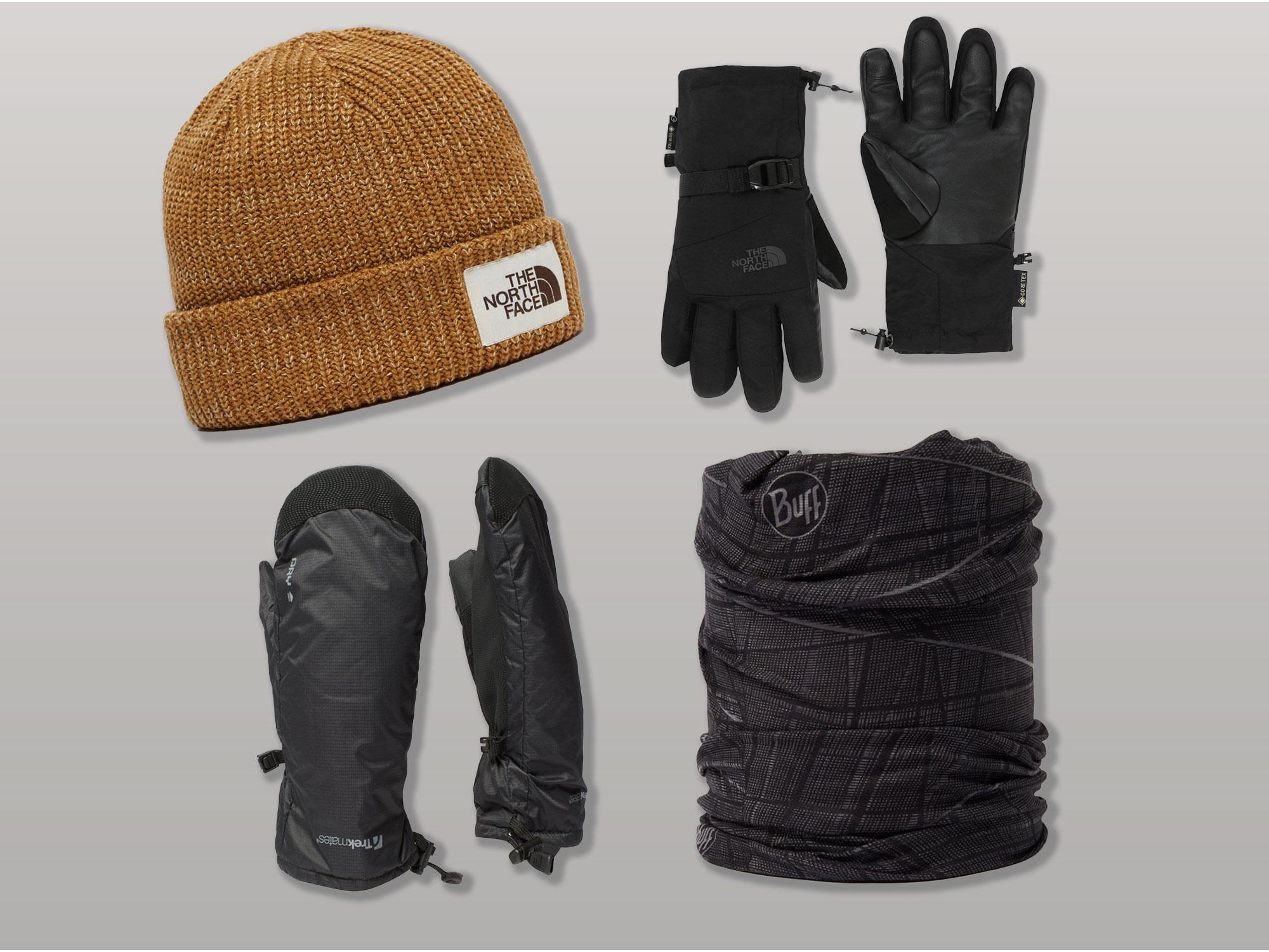 Neck Gaiter Gloves Beanie
