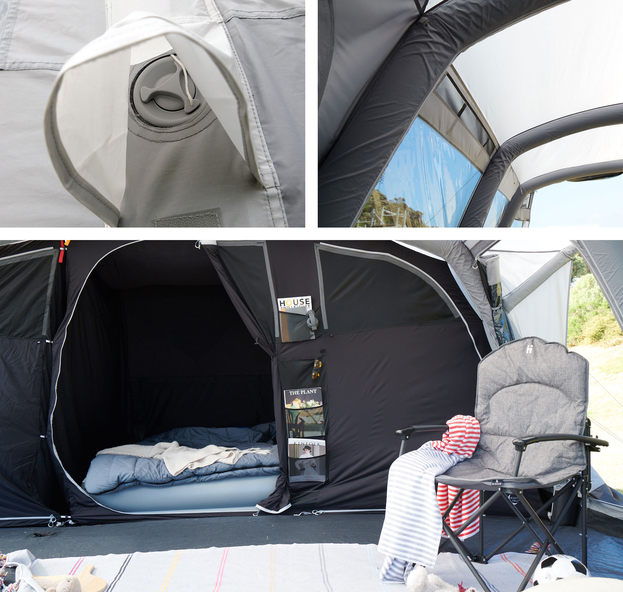 Berghaus Air Tent Features