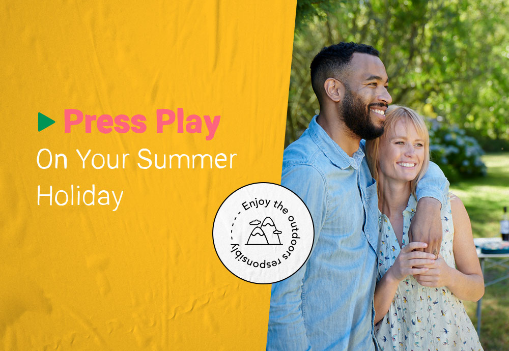 Press Play On Your Summer Holiday