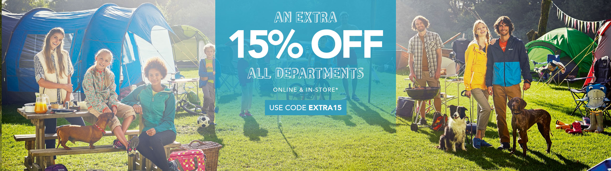 Extra 15% Off All Departments