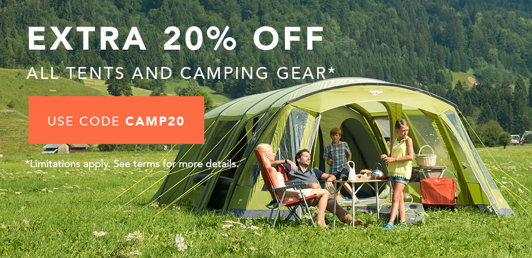 20% Off Camping