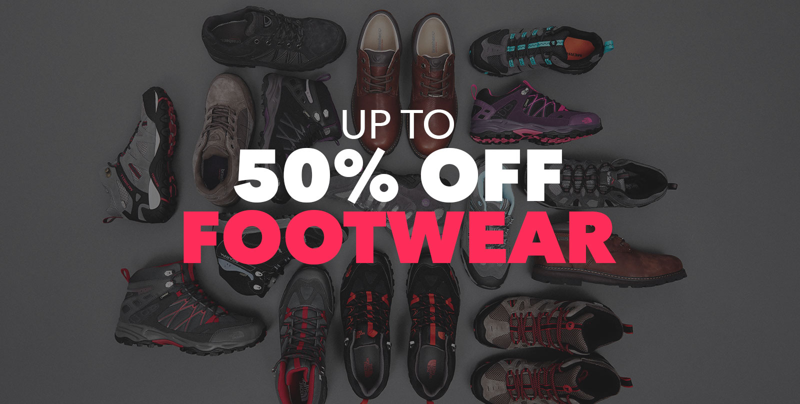 Up To 50 Percent Off Footwear