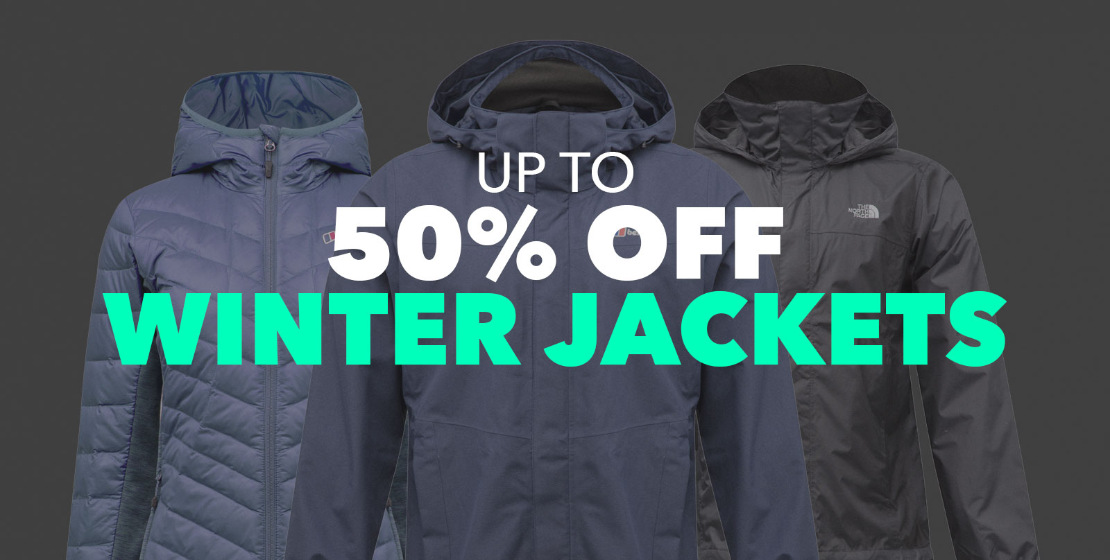 Up To 50 Percent Off Winter Jackets