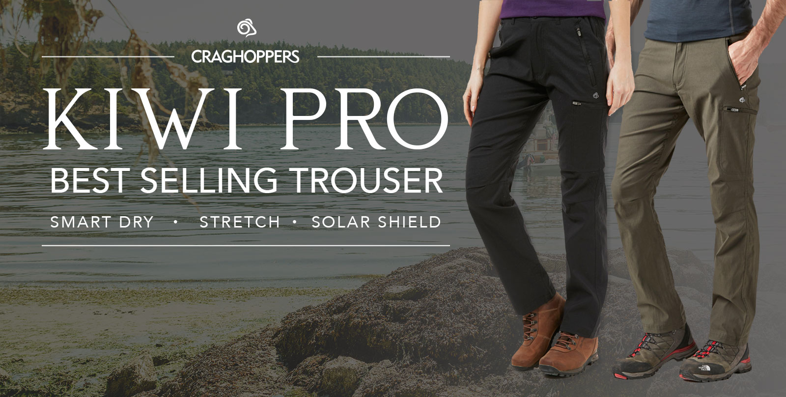 Shop Craghoppers Trousers