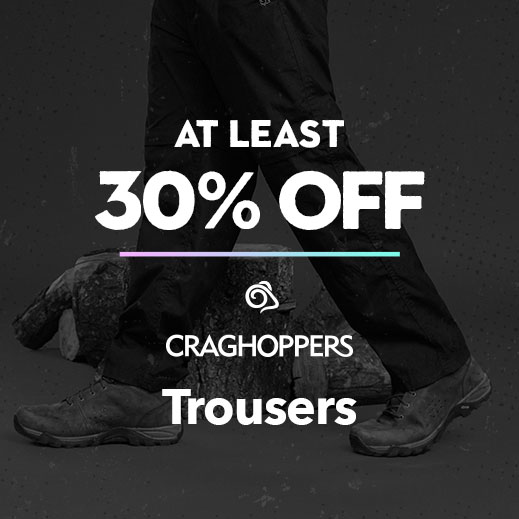 At Least 30% Off Craghoppers Trousers