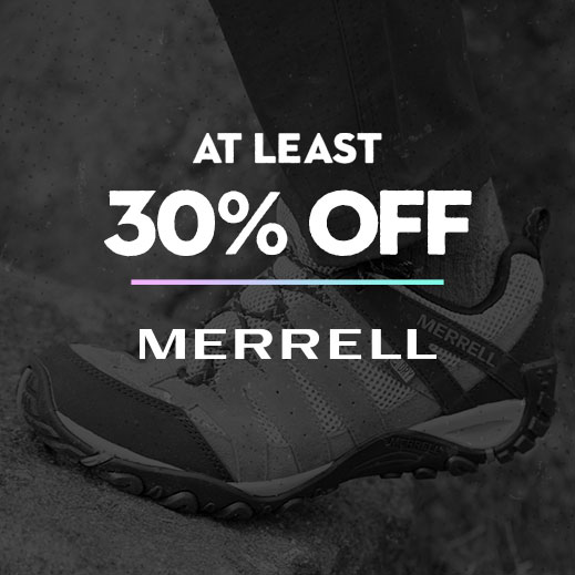 At Least 30% Off Merrell