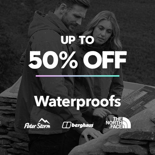 Up To 50% Off Waterproofs