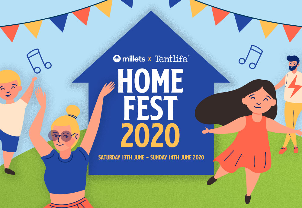 Millets x Tentlife Presents... Home Fest 2020